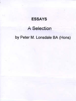 Essays: A Selection (Paperback)