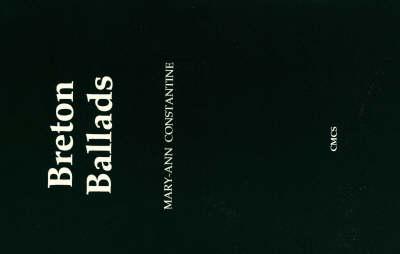 Breton Ballads (Paperback)