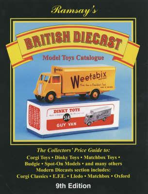 British Diecast Model Toys Catalogue (Hardback)