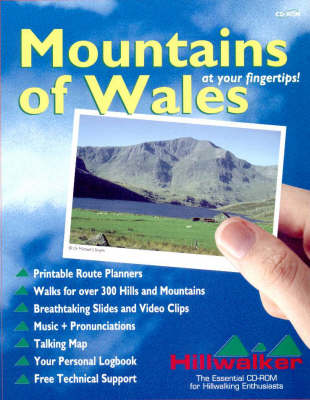 Mountains of Wales: An Interactive Guide to the Mountains and Hills of Wales - Hillwalker Info Series (CD-ROM)