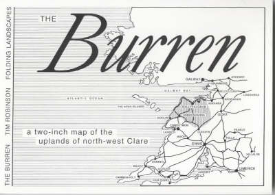 The Burren: A Two Inch Map of the Uplands of North-west Clare (Sheet map, folded)