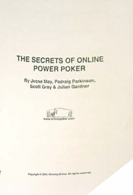 The Secrets of Online Power Poker