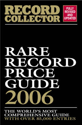 Rare Record Price Guide 2006 (Paperback)