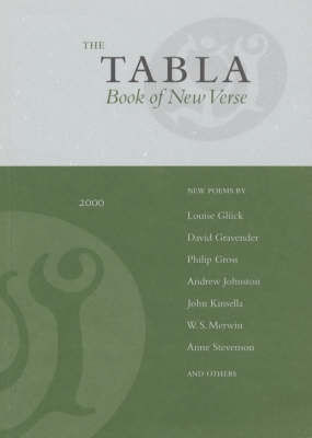 The Tabla Book of New Verse 2000 (Paperback)