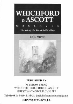 Whichford and Ascott Observed: The Making of a Warwickshire Village (Paperback)