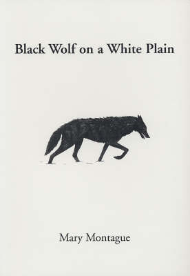 Black Wolf on a White Plain (Paperback)