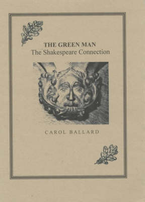The Green Man: The Shakespeare Connection (Paperback)