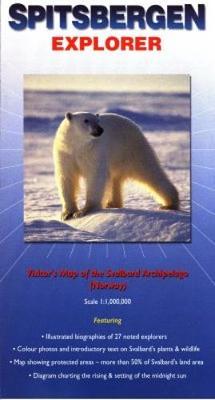Spitsbergen Explorer: Visitor's Map of the Svalbard Archipelago (Norway) - Ocean Explorer Maps (Sheet map, folded)