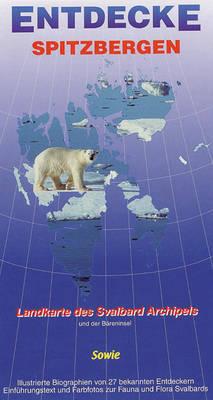 Entdecke Spitzbergen [Spitbergen Explorer] - Ocean Explorer Maps (Sheet map, folded)