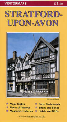 Stratford-upon-Avon: Visitor Map (Sheet map)
