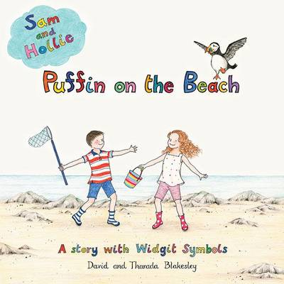 Puffin on the Beach: A Story with Widgit Symbols - Sam and Hollie 1 (Paperback)