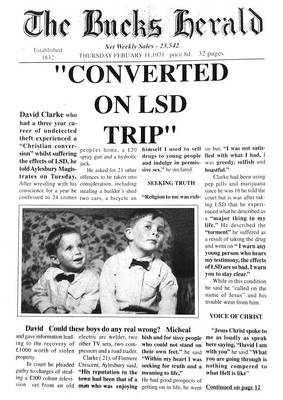 Converted on LSD Trip: Saved from Sin, Death and Hell by the Lord Jesus Christ (Paperback)