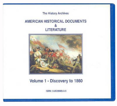 American Historical Documents and Literature - History Archives S. (CD-Audio)