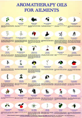 Aromatherapy for Ailments Chart (Wallchart)