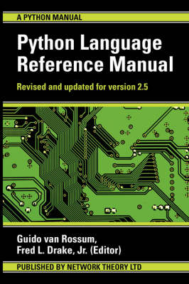 The Python Language Reference Manual (Paperback)