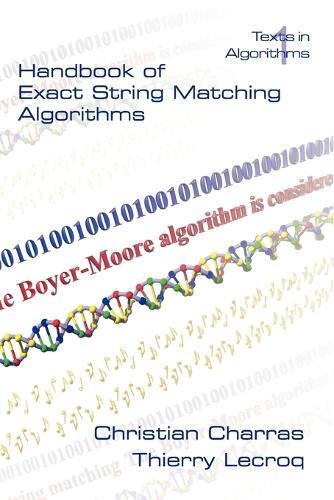 Handbook of Exact String Matching Algorithms (Paperback)