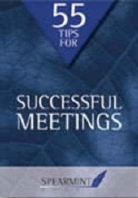 55 Tips for Successful Meetings - Business Tips Booklets (Paperback)
