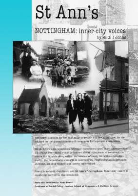 St Ann's Nottingham: Inner-city Voices (Hardback)