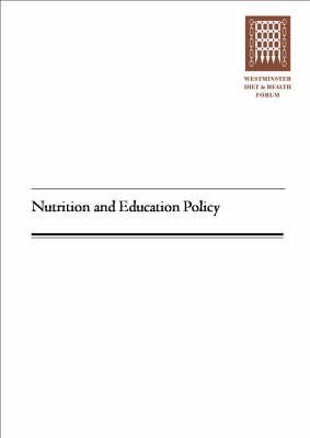 Nutrition and Education Policy (Paperback)