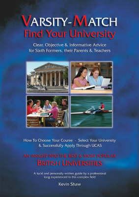 Varsity-match: Find Your University (Paperback)