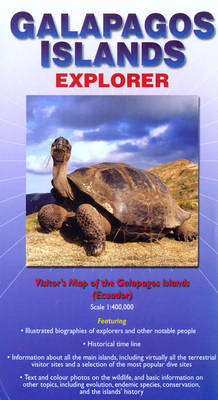 Galapagos Islands Explorer: Visitor's Map of the Galapagos Islands (Ecuador) - Ocean Explorer Maps (Sheet map, folded)