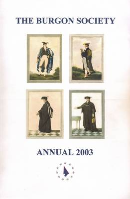Burgon Society Annual 2003 (Paperback)