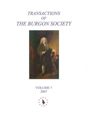 Transactions of the Burgon Society: v. 7 (Paperback)