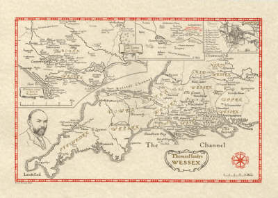 Thomas Hardy's Wessex - British Heritage Maps (Sheet map)