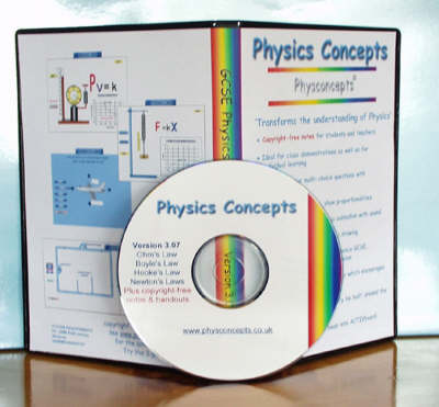 GCSE Physics Concepts - Concepts in Science S. No. 1 (CD-ROM)
