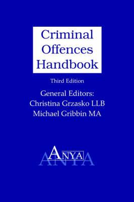 Criminal Offences Handbook (Paperback)