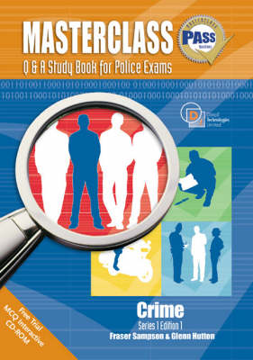 Masterclass Q and A Study Book for Police Exams: Crime (Paperback)