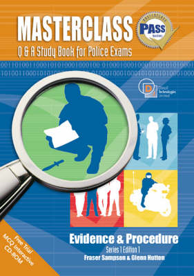 Masterclass Q and A Study Book for Police Exams: Evidence and Procedure (Paperback)