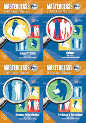 Masterclass Q and A Study Book for Police Exams (Paperback)