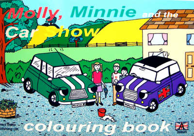 Molly, Minnie and the Car Show Colouring Book - Molly Mini S. (Paperback)