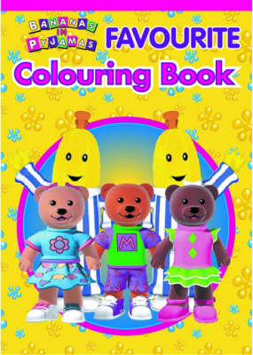 Bananas in Pyjamas: Colouring book (Paperback)