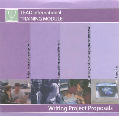 Writing Project Proposals (CD-ROM)