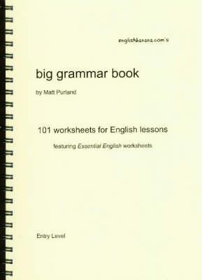 English Banana.com's Big Grammar Book: 101 Worksheets for English Lessons (Board book)