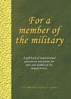 For a Member of the Military (Hardback)