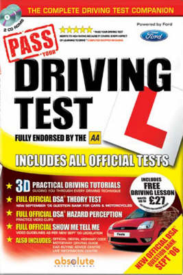 Pass Your Driving Test Safely Step by Step (CD-ROM)