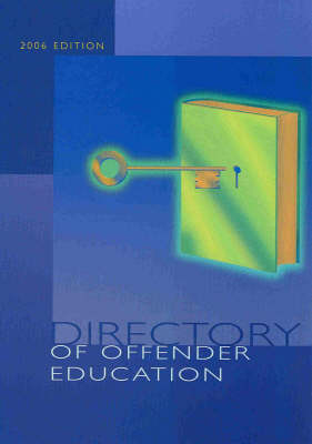 Directory of Offender Education 2006 (Paperback)