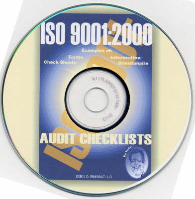 ISO 9001:2000 Audit Checklists (CD-ROM)