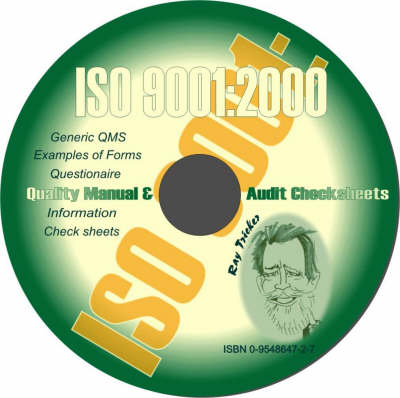 ISO 9001:2000 Quality Manual and Audit Checksheets (CD-ROM)