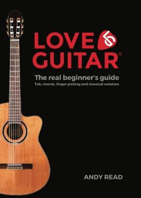 Love Guitar: The Real Beginner's Guide (Black Edition) (Paperback)