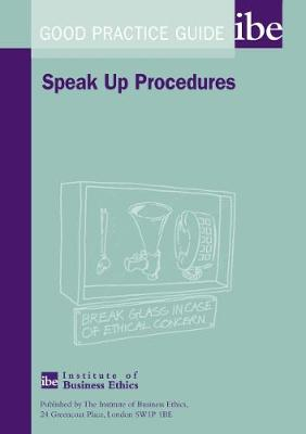Speak Up Procedures - Good Practice Guide No. 1 (Paperback)