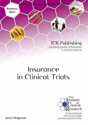 Insurance in Clinical Trials (Paperback)