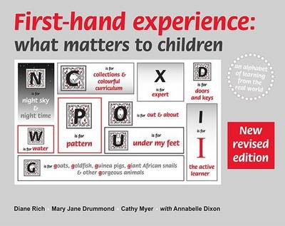 First-Hand Experience: What Matters to Children: An Alphabet of Learning from the Real World - What Matters to Children 2 (Spiral bound)