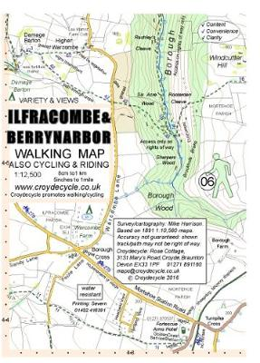Ilfracombe and Berrynarbor Walking Map (Sheet map, folded)
