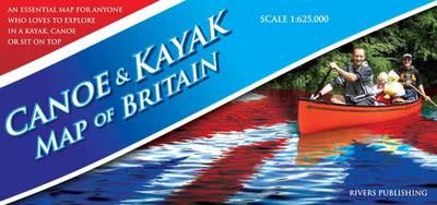 Canoe & Kayak Map of Britain (Sheet map, folded)