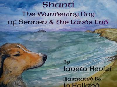 Shanti the Wandering Dog of Sennen and the Land's End: Shanti the Wandering Dog (Paperback)