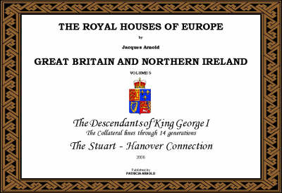 The Royal Houses of Europe: v. 5: Great Britain (Paperback)